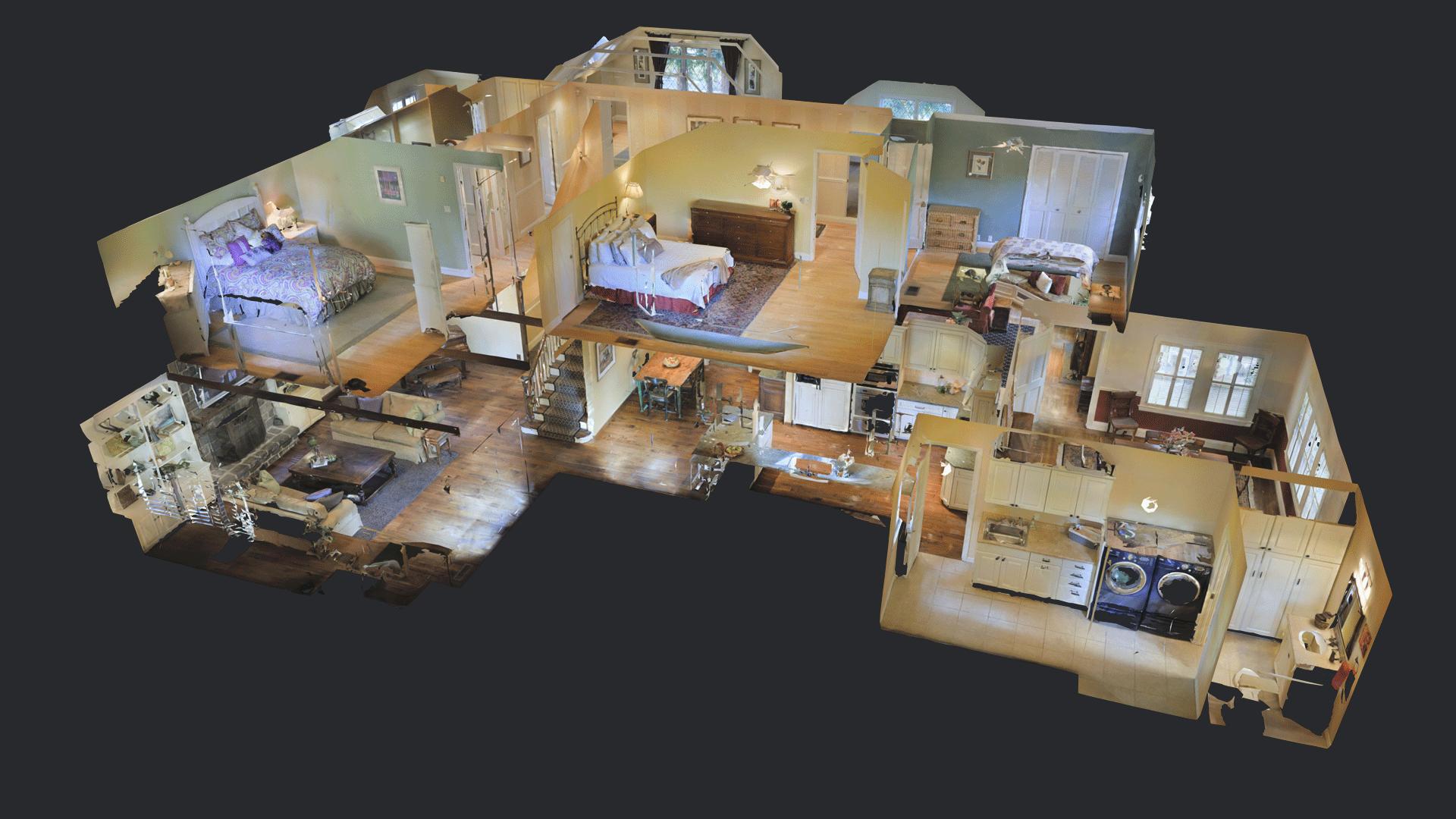 3D Tour Dollhouse Image
